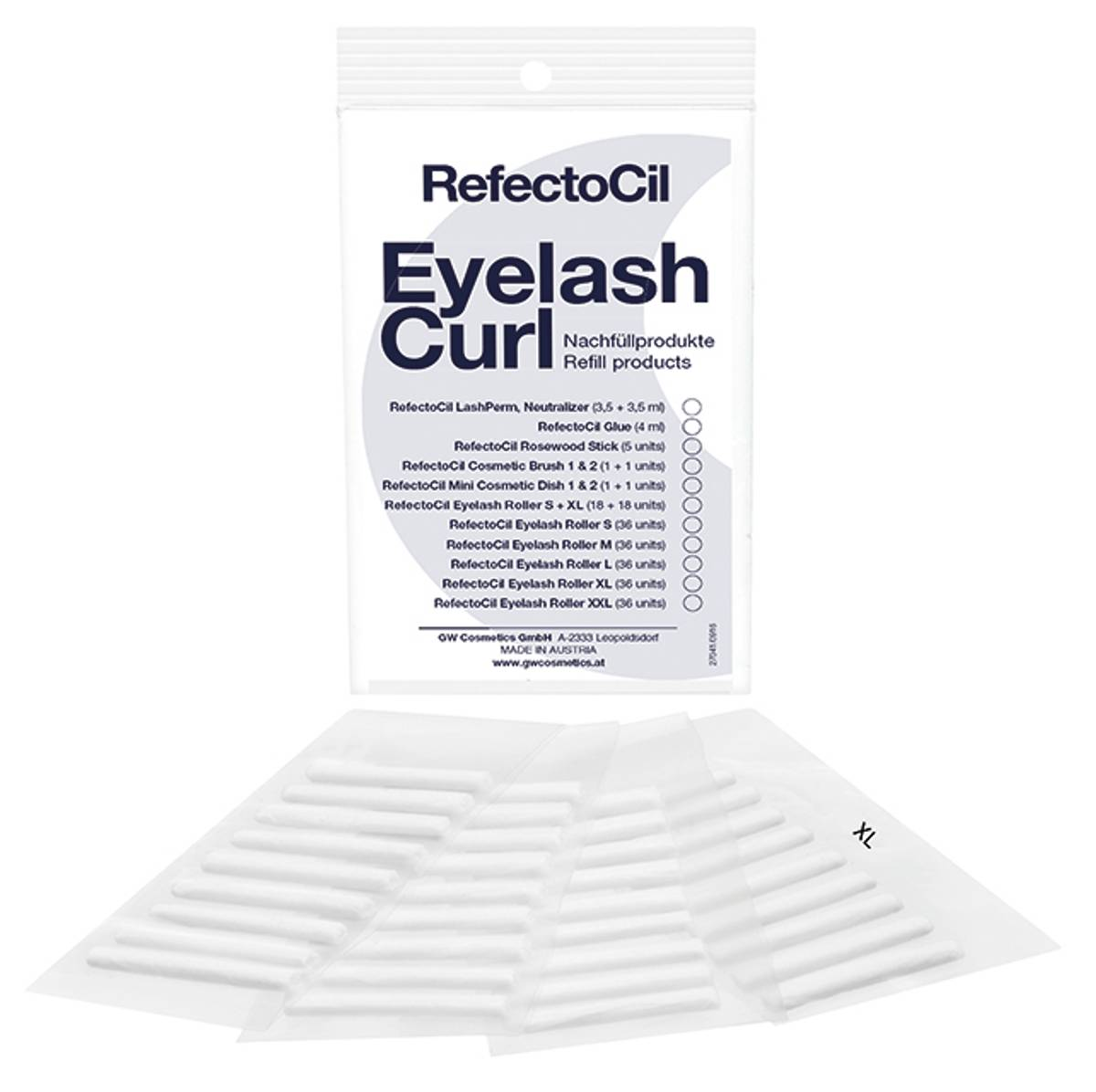 RefectoCil Eyelash Curl Roller refill