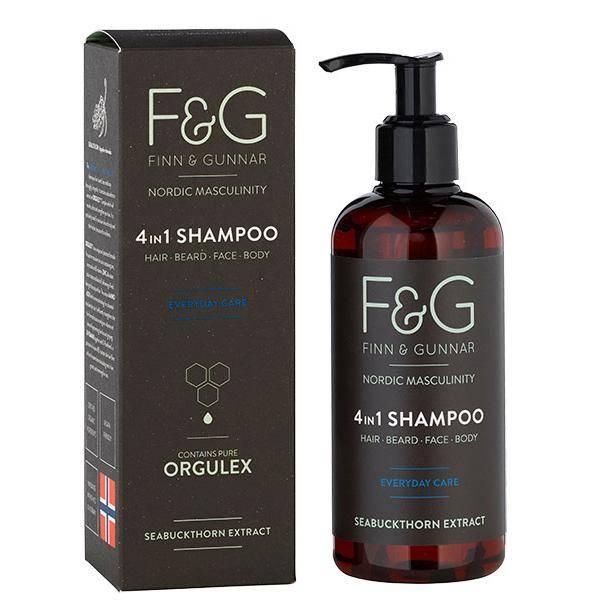Bilde av F&G Nordic Masculinity 4 in 1 Shampoo 250 ml