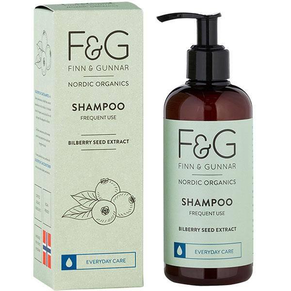 Bilde av F&G Nordic Organics Shampoo Frequent Use 250 ml